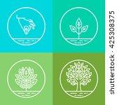 vector infographics design... | Shutterstock .eps vector #425308375