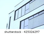 close up to modern building... | Shutterstock . vector #425326297