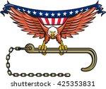 illustration of an american... | Shutterstock .eps vector #425353831