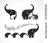Vector Image Of Family...