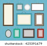 different color blank picture... | Shutterstock .eps vector #425391679
