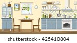 illustration of a classic... | Shutterstock .eps vector #425410804