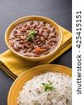 rajma or razma is a popular... | Shutterstock . vector #425415151