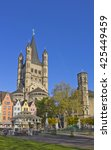 Small photo of Great St. Martin church in Cologne, Germany