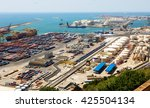barcelona  spain   june 21 ... | Shutterstock . vector #425504134
