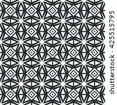 geometric line monochrome...   Shutterstock . vector #425515795