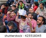 budapest   september 5   war... | Shutterstock . vector #425518345