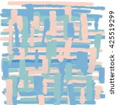 light blue pink love pastel... | Shutterstock .eps vector #425519299