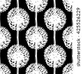 abstract dandelion seamless... | Shutterstock .eps vector #425526229