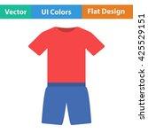 fitness uniform icon. vector...