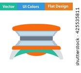 solarium icon. vector...