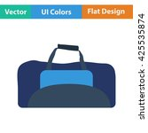 fitness bag icon. vector...