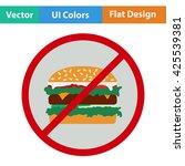prohibited hamburger icon....