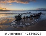 Sunbeam  Wreck At The Rossbeig...