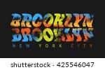 vector illustration on the...   Shutterstock .eps vector #425546047