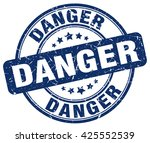 danger. stamp | Shutterstock .eps vector #425552539