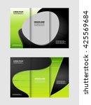 brochure design template... | Shutterstock .eps vector #425569684