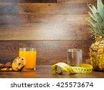 diet weight loss fitness... | Shutterstock . vector #425573674