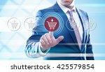 business  e business ... | Shutterstock . vector #425579854