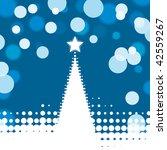 christmas lights background | Shutterstock .eps vector #42559267