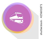 train. internet template.... | Shutterstock .eps vector #425601871