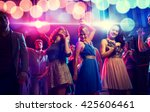 party  holidays  celebration ... | Shutterstock . vector #425606461