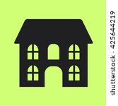 house icon.vector | Shutterstock .eps vector #425644219