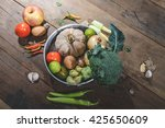 vegetables for health and cook | Shutterstock . vector #425650609