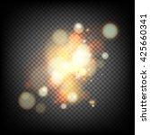 soft bokeh and lights. | Shutterstock .eps vector #425660341