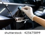 car detailing series   closeup... | Shutterstock . vector #425675899