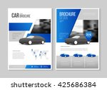 car repair business catalogue... | Shutterstock .eps vector #425686384