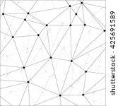 geometric gray background... | Shutterstock .eps vector #425691589