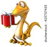 fun lizard | Shutterstock . vector #425737435