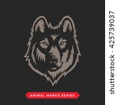 wolf head symbol. great for... | Shutterstock .eps vector #425739037