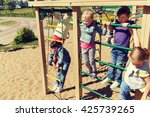 summer  childhood  leisure ... | Shutterstock . vector #425739265