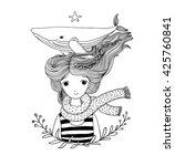 Beautiful Young Girl Sailor...