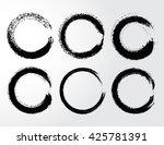 vector grunge circles.grunge... | Shutterstock .eps vector #425781391