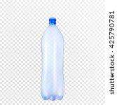 vector plastic bottle. | Shutterstock .eps vector #425790781