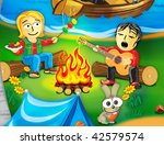 collection cartoon personage.... | Shutterstock . vector #42579574