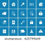 security icons   Shutterstock .eps vector #425799649