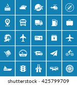 transport icons | Shutterstock .eps vector #425799709