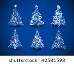 Six Modern Christmas Trees On ...