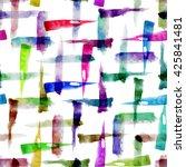 abstract artistic seamless...   Shutterstock . vector #425841481