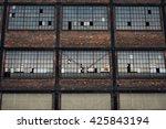 Urban Brick Building With...