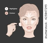 Face Shape Contour Guide....