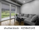 simply and modern designed... | Shutterstock . vector #425865145