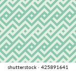 seamless turquoise african... | Shutterstock . vector #425891641