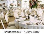 gorgeous restaurant for the... | Shutterstock . vector #425916889
