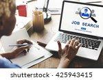 job search hiring website word...