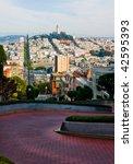 lombard street in san francisco | Shutterstock . vector #42595393